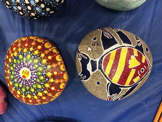 Fish and Shell Rocks